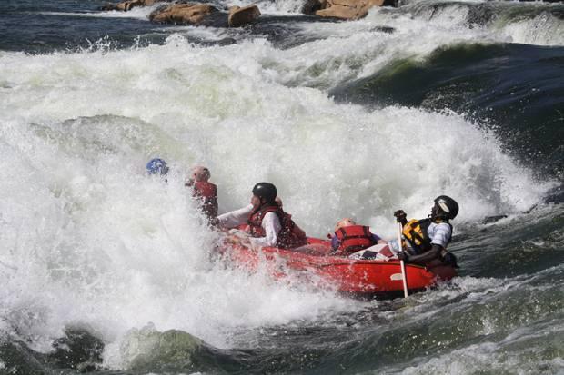 White water rafting Uganda