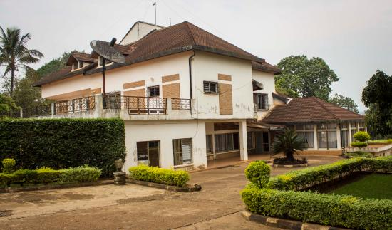 The presidential palace museum in Kigali